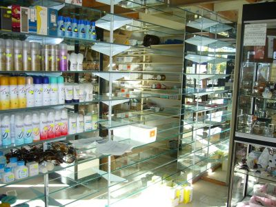 Todo para negocios perfumeria opciones con rieles y mensulas - Estanterias para perfumerias ...