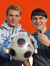 Photo of Manuel Neuer & his  Brother  Marcel Neuer