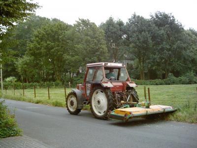 Mulcher landwirtschaft
