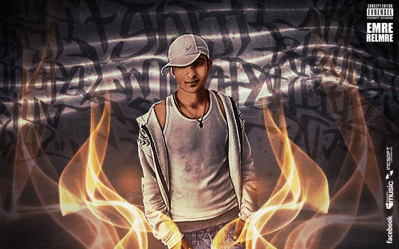 Relmre EMRE (Rapstar) Albüm Wallpaper Çalışması (INCSOFT)