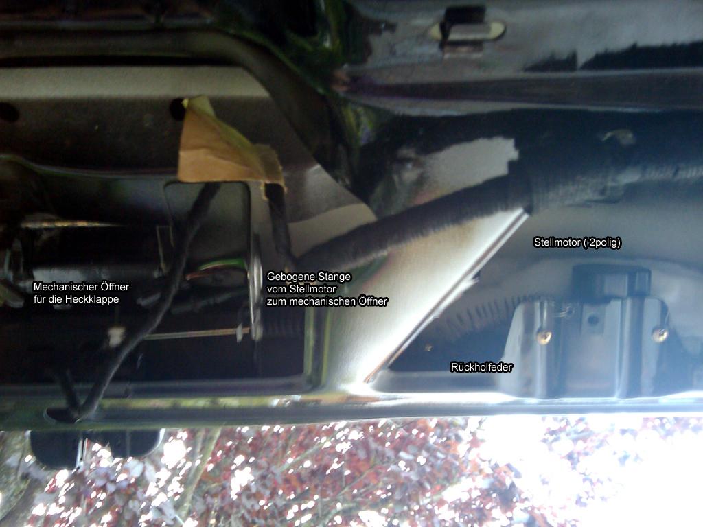 heckscheibentaster mit mikroschalter