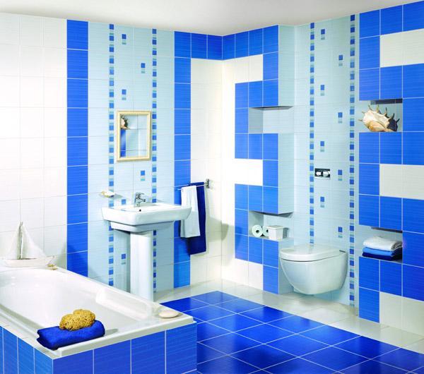 Варианты оформления ванной комнаты