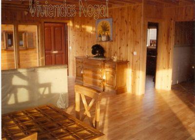 Viviendas nogal interiores - Ver casas de madera por dentro ...