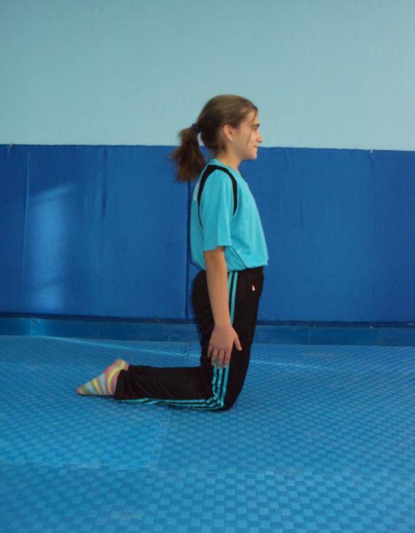 10.dizustu.yan temel cimnastik duruşları JİMNASTİK DURUŞLARI