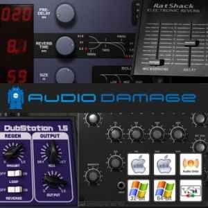 Audio Damage Plugin Pack скачать бесплатно