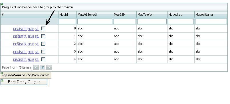 AspxGridview de select butonuna tık eventi - C#nedir?com Forum