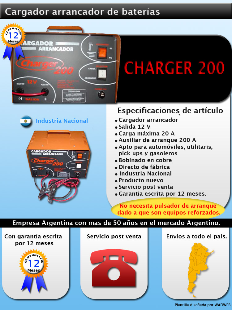 charger 200