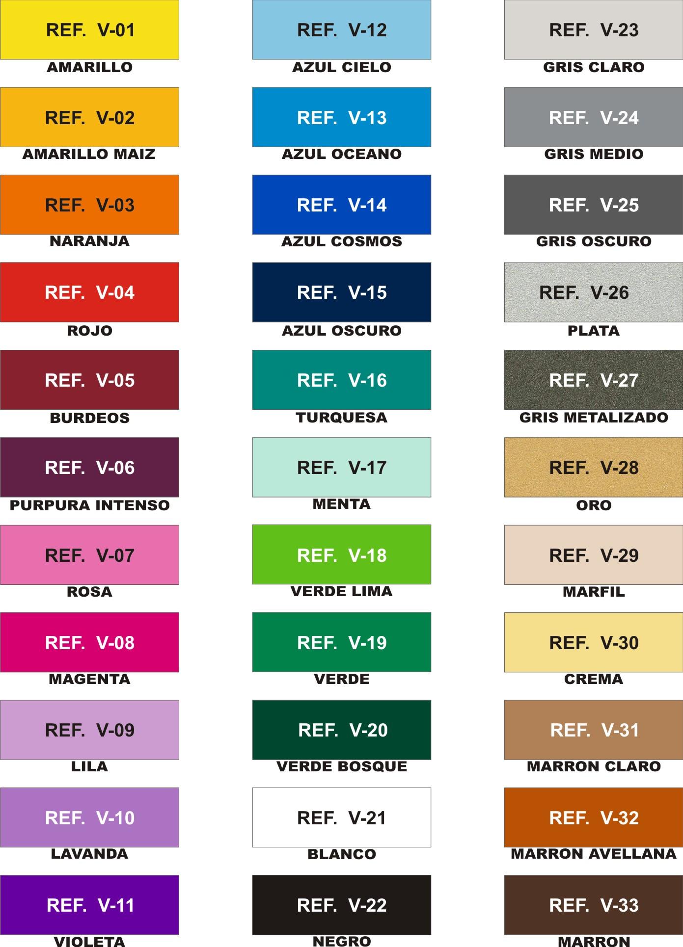 Casas cocinas mueble colores d pinturas for Tabla de colores pintura interior