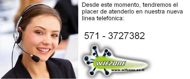 Telefono Contacto Wifzone