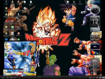 descargar temas de dragon ball z para windows 7