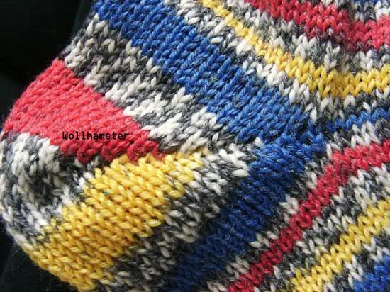 Ferse stricken ohne löcher