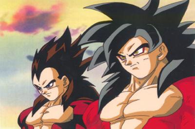 Goku y vegeta fase 4