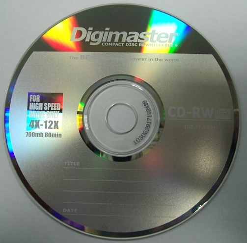 Change read only attribute on DVD/CD