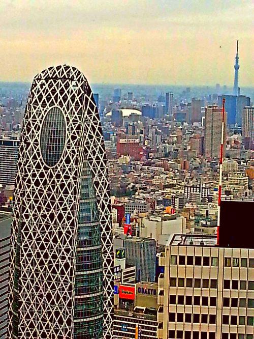 Første dag i Tokyo
