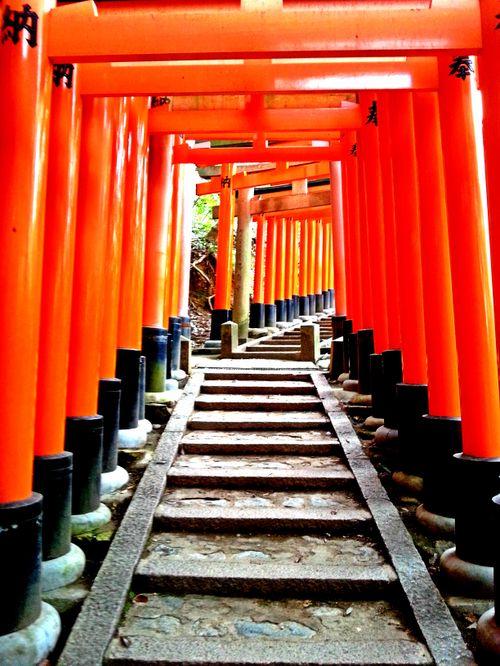 3. april 2015: Fushimi Inari, Kyoto og Osaka