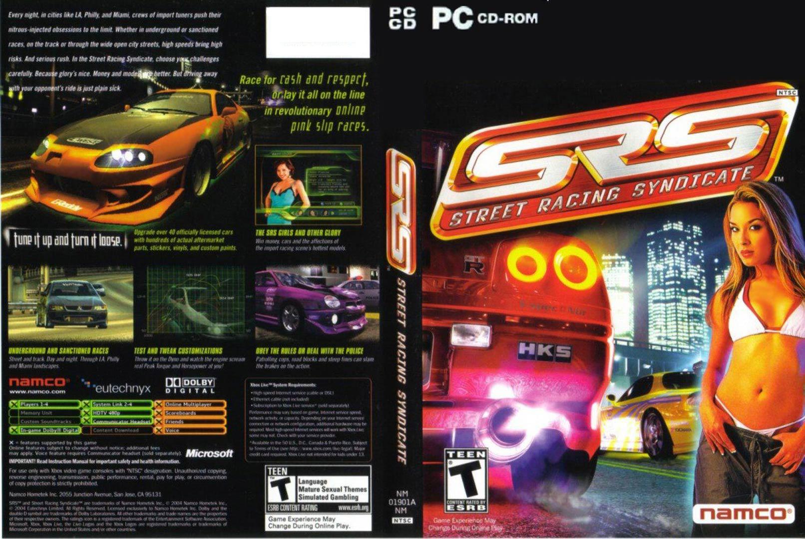 Street Racing Syndicate Pc Car List