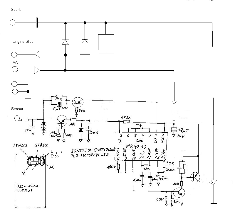 diagnostyka uklady zapolonowe cdi ignition motoplat sem Electrical Diagram
