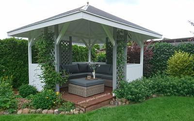 zimmerei sven gerlach gartenhaus u pavillon. Black Bedroom Furniture Sets. Home Design Ideas