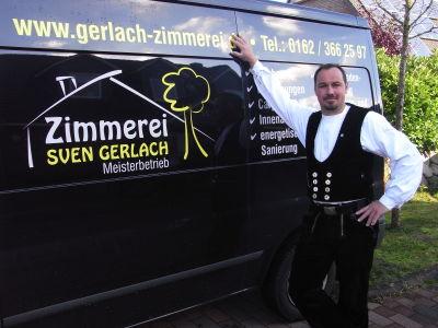 Sven Gerlach Zimmerei Logo