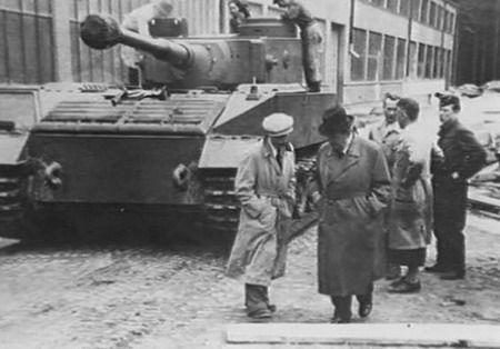 Германские танки тигр