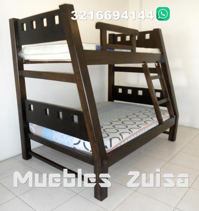 Muebles zuisa literas camarotes - Literas madera maciza ...