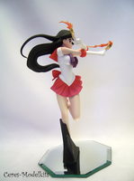 Sailor Mars with Fire