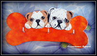 2 bulldog ingles