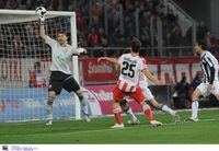 4/03/09  Olympiakos 2 - 0 Paok (Greek Cup)