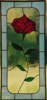 Red Rose Panel