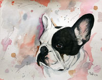 Aquarellportraits- Young Line-
