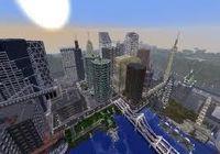 минекрафт скачать карту города