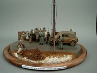 Diorama The War Is Over - Ardennen 1944