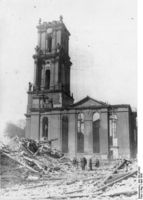 Garnisonkirche April 1945