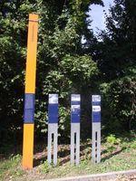 Steinst�cken Gedenkstele