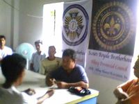 SRB-APC visit Ligao Community Chapter(Delta Lambda)