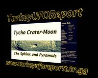 The Sphinx and Pyramids on the MOON!!!Tycho Crater-MOON