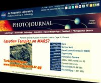 EGYPTIAN TEMPLES ON MARS?YOU DECIDE...SPECIAL COLORED PHOTOS