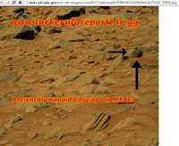 Ancient Humanoid Carving on MARS?
