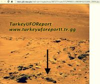 Ancient Aliens on MARS?Special Colored Photos