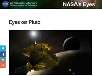 Eyes on Pluto and Charon-2015 NASA-High Image Guality 3D