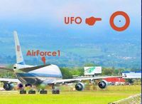 AirForce1 and UFO
