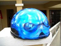 RM150 Helmet ChemicalFlame(1/2 size)