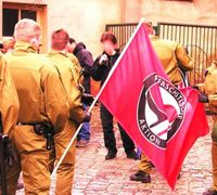 german antifascism cops