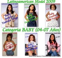 Candidatas Latin American Best Model 2009
