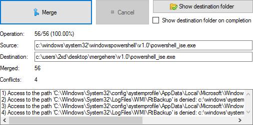 2XDSOFT - Folder Merger