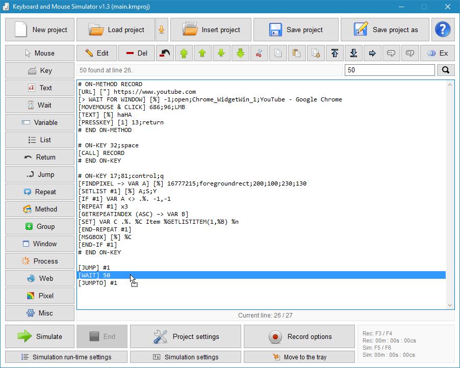 2XDSOFT - Keyboard & Mouse Simulator