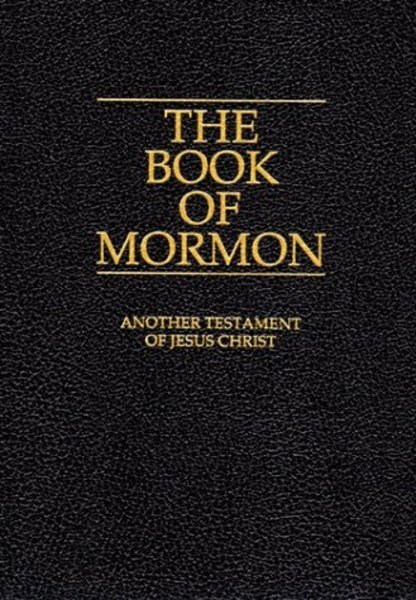 Mormon İncili, kitabı, The Book of Mormon