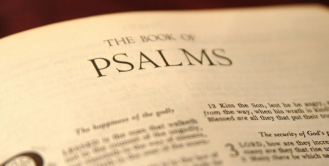 Zebur, English Psalter, Psalms, Old Testament