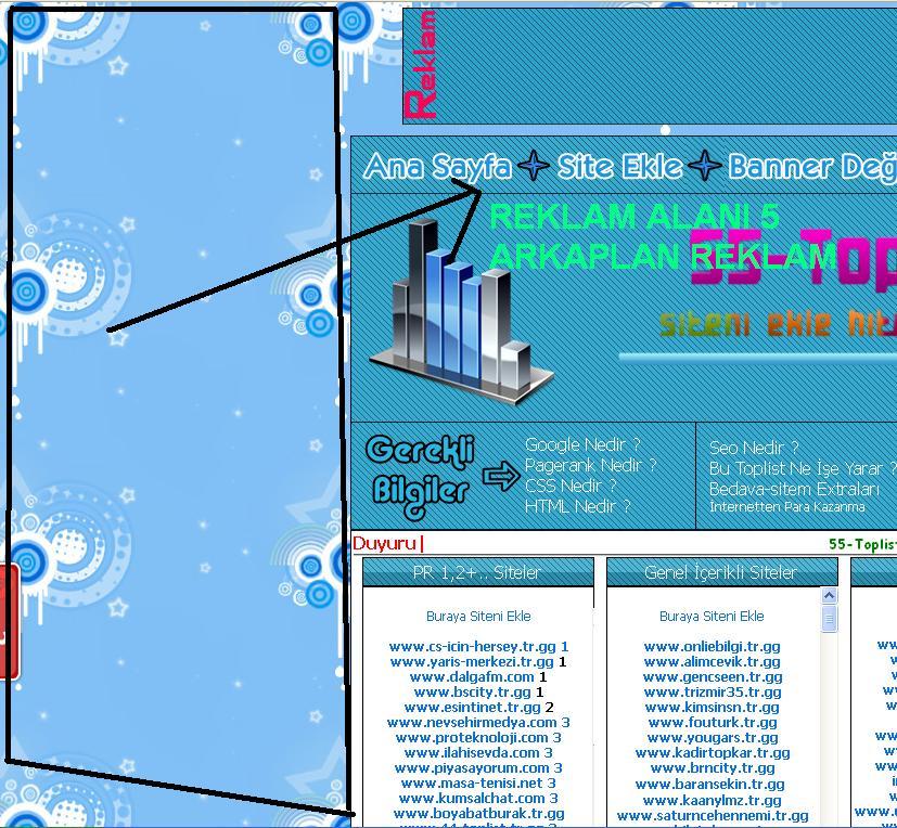 Reklam Alanı 5 Arkaplan