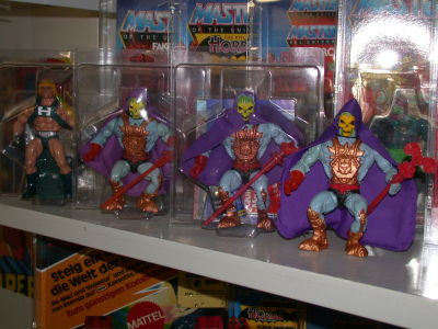 80s collector Laser Power He-Man Laser Light Skeletor